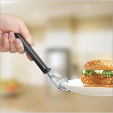 Miss Rose Multifunction Stainless Steel Bowl Universal Handheld Anti Scald Hot Plate Holder Cute Microwave Oven Clamps