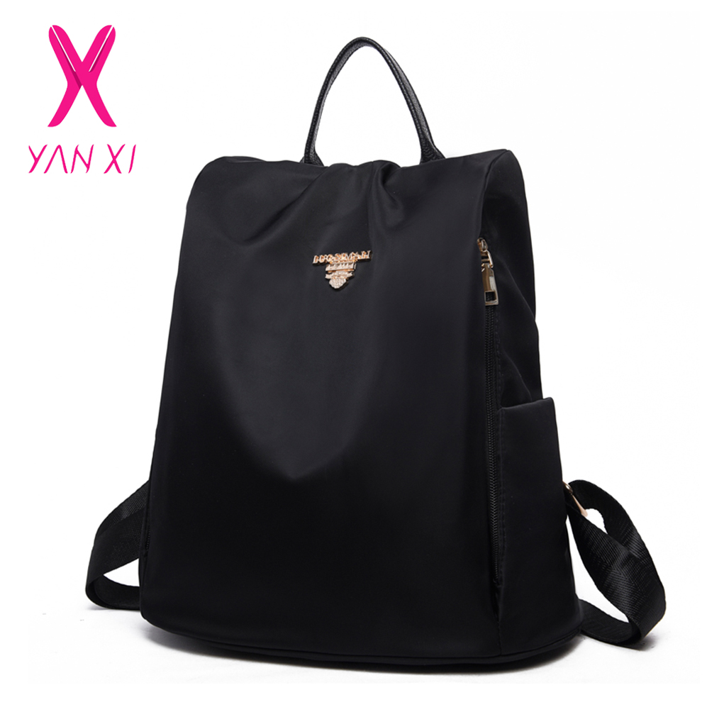 Yanxi Marke Frauen Oxford Rucksack Weibliche Casual Schulter Tasche Mode Wasserdichte Reisetaschen Jugendliche Mädchen Schule Rucksäcke
