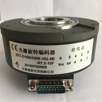長春 Yuheng 光学エレベーター光電格子エンコーダ ZKT-D100H30B-102.4B-R7.5-15F