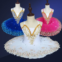 51c4eaae40 Professional Ballet Tutu Child Swan Lake Costume White Red Blue Ballet  Dress For Children Pancake Tutu. Swan Lake Ballet profissional Tutu Criança  Vestido ...