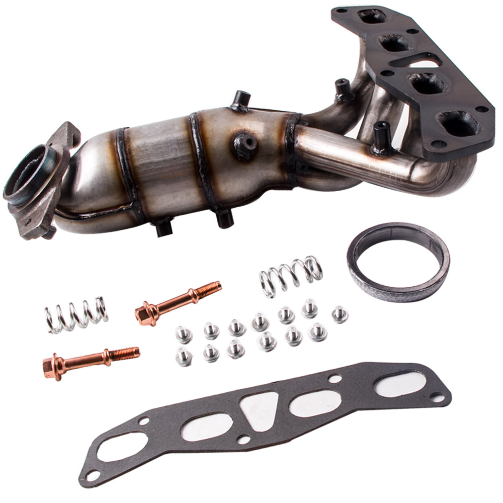 Exhaust Manifold For Nissan Altima 25l Catalytic Converter Includes Free Gasket And Bolts 2002: Catalytic Converter Bolts At Woreks.co