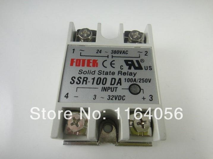 Solid State Relais SSR-100DA 100A 3-32VDC/24-380VAC
