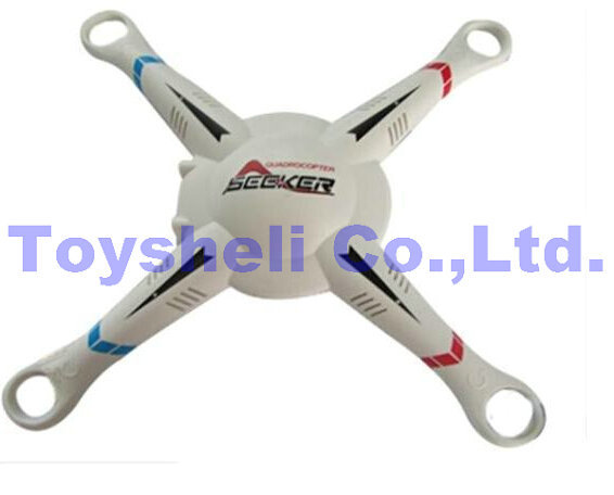 <font><b>WL</b></font> <font><b>v303</b></font> Helicopter parts Upper Body Shell Cover WLtoys <font><b>V303</b></font> RC Quadcopter Spare Parts image