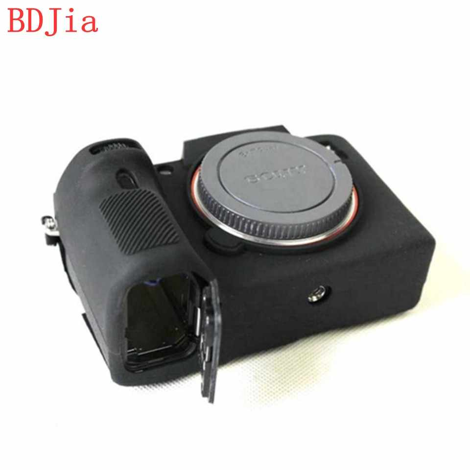 2018 Hot Sale Silicone Camera Case Capa Bag para Sony Alpha ILCE-7RIII A7RM3 A7R3 Em 2 Cores, Frete Grátis