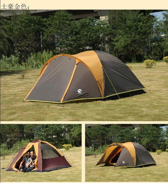 The donkey outdoor couple of double 2 tents 3 people 4 people c&ing tent rain double & The donkey outdoor couple of double 2 tents 3 people 4 people ...