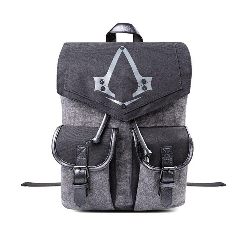 Assassins Creed Alliance logo Mens backpack multifunctional cloud travel bag men backpacks unisex multipurpose women