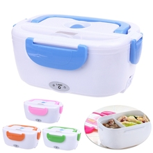 Portable Electric Heated Food Warmer Box Container Lunch Meal Lunchbox 110V US цена 2017