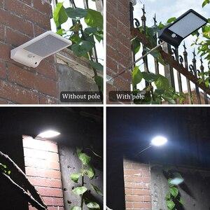 Image 4 - Новый 450lm 36 solar power led street light pir motion sensor лампы сад безопасность лампы открытый уличный водонепроницаемый настенные светильники