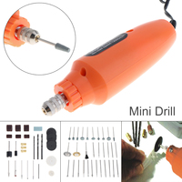 Sale 60pcs Set 12V 12000RPM Cordless Mini Drill EU Adapter Electric Grinder Rotary Tool Kit For