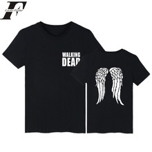 e8bc8464b0 2018 harajuku el caminar muerto camiseta de fitness hombres mujeres tumblr  tamaño 4XL camiseta mujer Marca Ropa camisetas