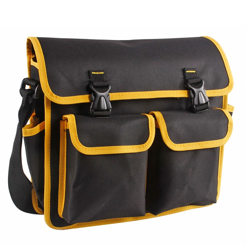 Multifunctional Tool Box Bag Oxford Cloth Electrician Repair Shoulder Hardware Tools Storage Case 350x300x100mm