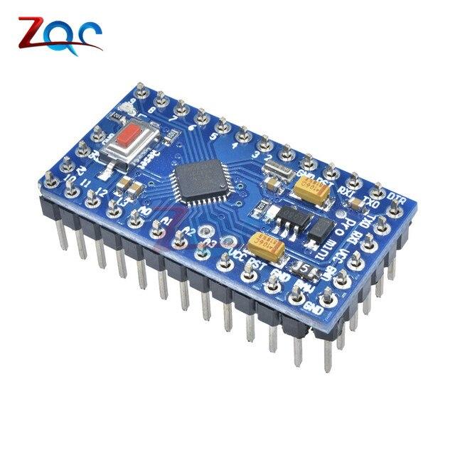 US $2 45 |1Set Atmega328 Pro Mini 5V 16MHz Board Module For Arduino Nano  Mini 328 ATMEGA328P AU Micro Controller With 3 Pins Standard -in Instrument