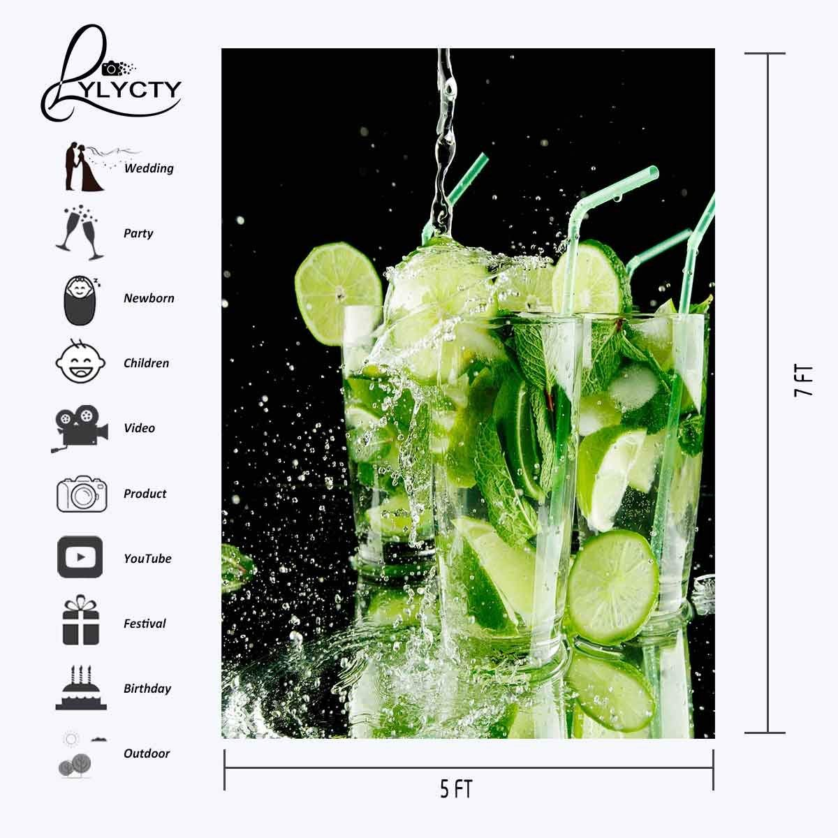150x210cm Creative Advertising Backdrop Fresh Juice Advertising Photography Background in Photo Studio Accessories from Consumer Electronics