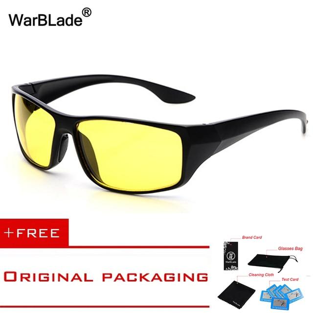 High quality Plastic Frame Night Vision Glasses Driver Night Driving Mirror Light Goggles Sun Glasses UV400 Men Sunglasses