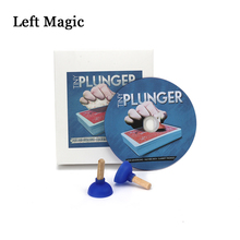 Tiny Plunger (Gimmicks+DVD) - Magic Tricks Close Up Street Stage Card Magic Props Comedy Mentalism  Accessories Illusions Toys the invisible bicycle deck amazing magic cards close up street magic tricks stage magic props mentalism comedy kid puzzle toys