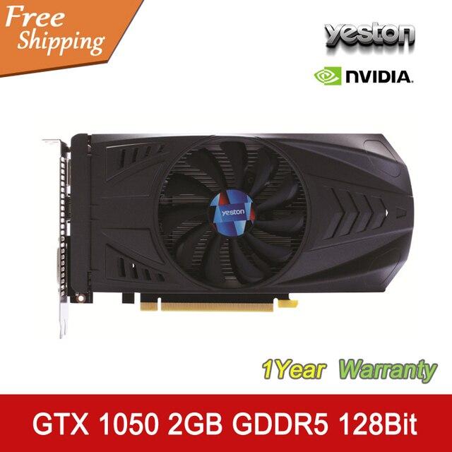 Yeston Karta Graficzna Nvidia Geforce Gtx 1050 2 Gb Gddr5 128bit