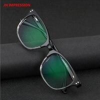 c395d7b46 Acetate Frame Vintage Transition Photochromic Reading Glasses Men Women  Adjustable Vision Multifocal Diopter 1 0 4