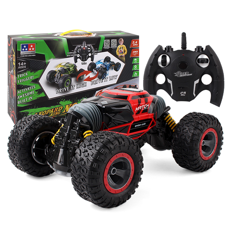 1:16 RC Car 4WD Truck Scale 20km/h 2.4GHz One Key Transformation All-terrain Vehicle Varanid Climbing Car Remote Control Toys