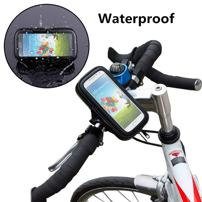 Motorcycle bike waterproof case for Huawei p8 lite protective support d153//d01