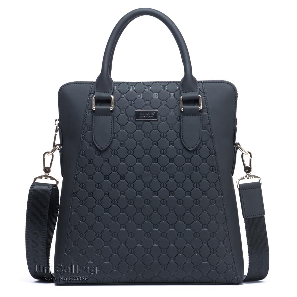 ФОТО Brand men handbag vertical stylish men business crossbody messenger bag cow split leather men shoulder bag handbag