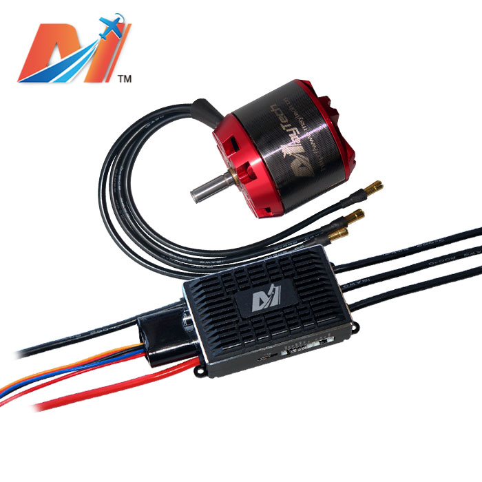 Maytech 200KV motor sensored 6355 dual motor electric skateboard 100A ESCin Propulsion from
