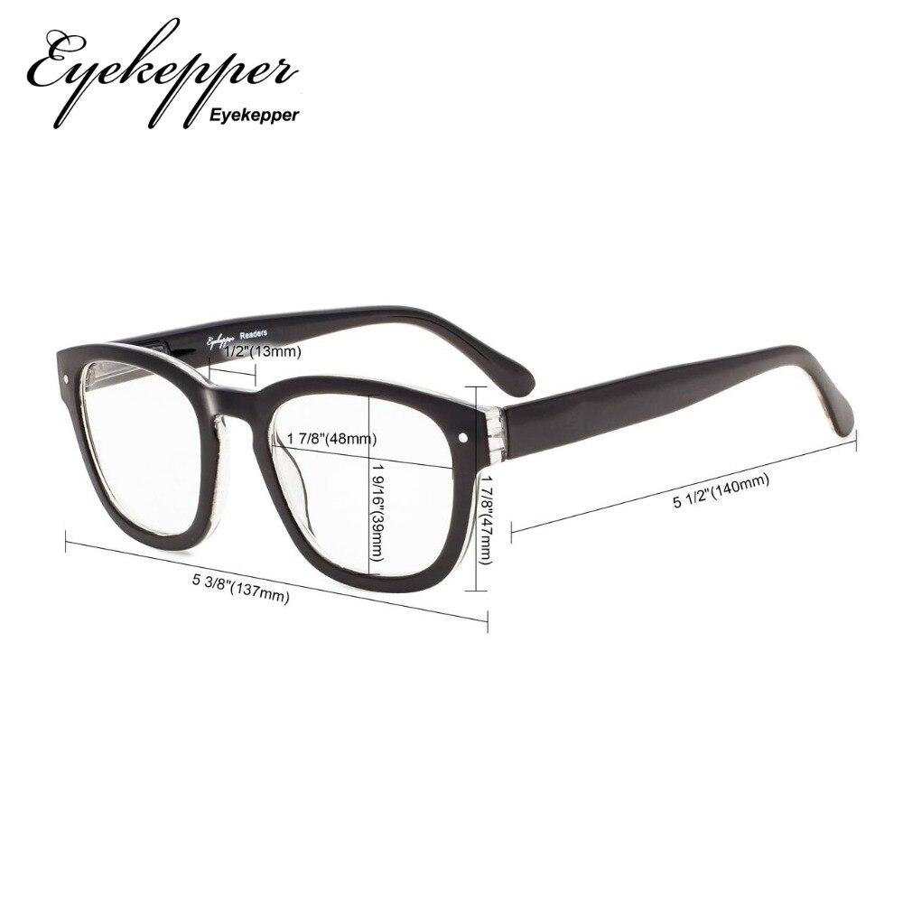 3bc98813c0 R802 Eyekepper elegante lectores calidad primavera bisagras gafas de  lectura + 0,5/0