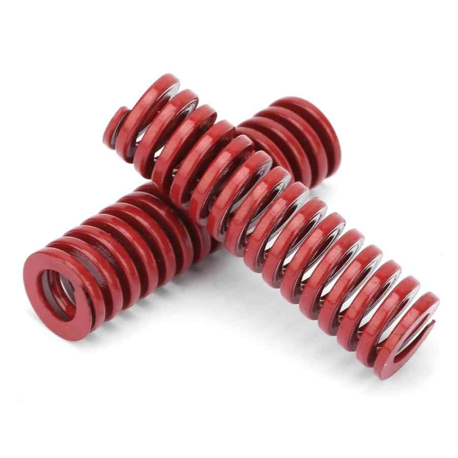2Pcsแม่พิมพ์Dieฤดูใบไม้ผลิOD 10 มม.ความยาว 30/35/40/50/60/70/80mm TMสีแดงขนาดกลางโหลดการบีบอัดฤดูใบไม้ผลิปั๊มโลหะแม่พิมพ์Dieฤดูใบไม้ผลิ