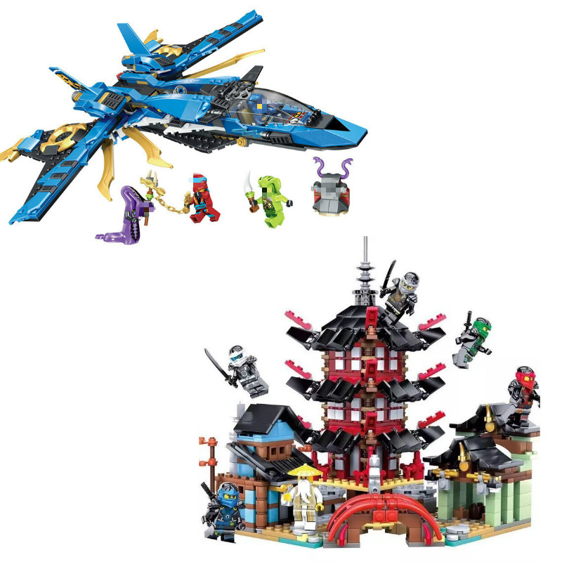 2017 Ninja Temple 737+pcs Building Block Kids Toys Legoing Ninjagoes Compatible