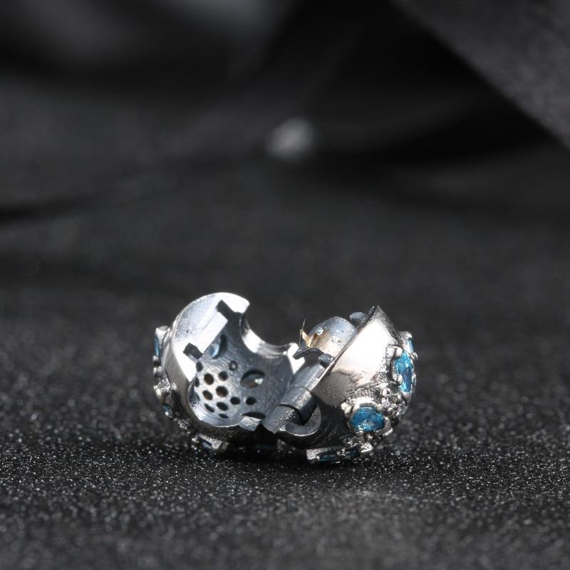 vruće 925 srebro Europski kubni cirkonij Charm perle Fit Pandora - Modni nakit - Foto 5