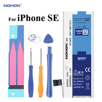 NOHON Battery For Apple IPhone SE IPhoneSE 1624mAh High Real Capacity Replacement Built In Phone Lithium