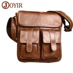 4e1df3c36cd6 Genuine Leather Men Bags Fashion Male Messenger Bag Men s Small Briefcase  Man Casual Crossbody Bags Shoulder Handbag