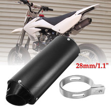 28 /32 / 38mm Muffler Exhaust Pipe Clamp 50cc 110cc 125cc Dirt Pit Quad Bike ATV(China)
