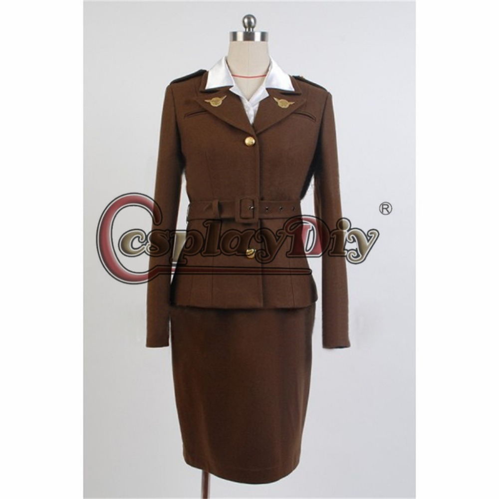 cosplaydiy captain america: the first avenger cosplay costume agent