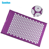 Acupuncture Massager Cushion Acupressure Mat Relieve Stress Pain Acupuncture Spiky Yoga Mat Size Appro 68 42cm