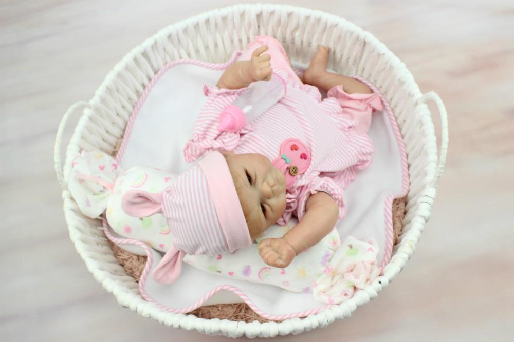 NPKCOLLECTIO Real 40 cm de silicona adora peluche metoo bebé recién nacido realista magnética chupete bebes reborn muñecas de juguete-in Muñecas from Juguetes y pasatiempos    3