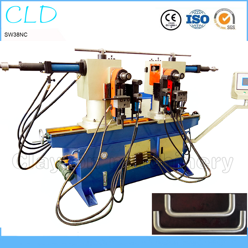China factory high quality SW 38NC double head hydraulic bending machine price double head tube bender