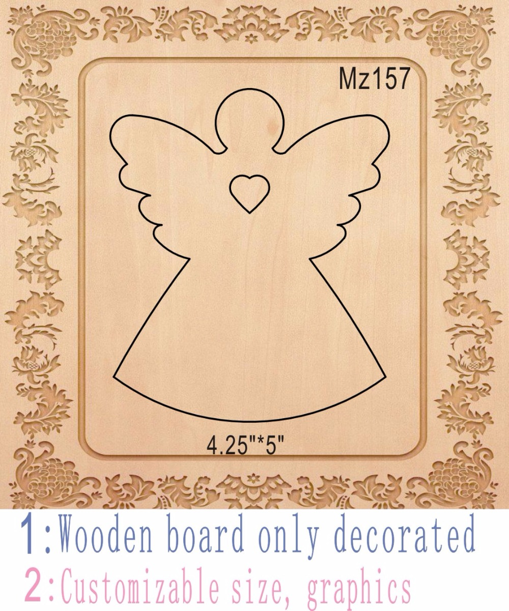 Christmas angel muyu cutting die-- new wooden mould cutting dies for scrapbooking Thickness-15.8mm