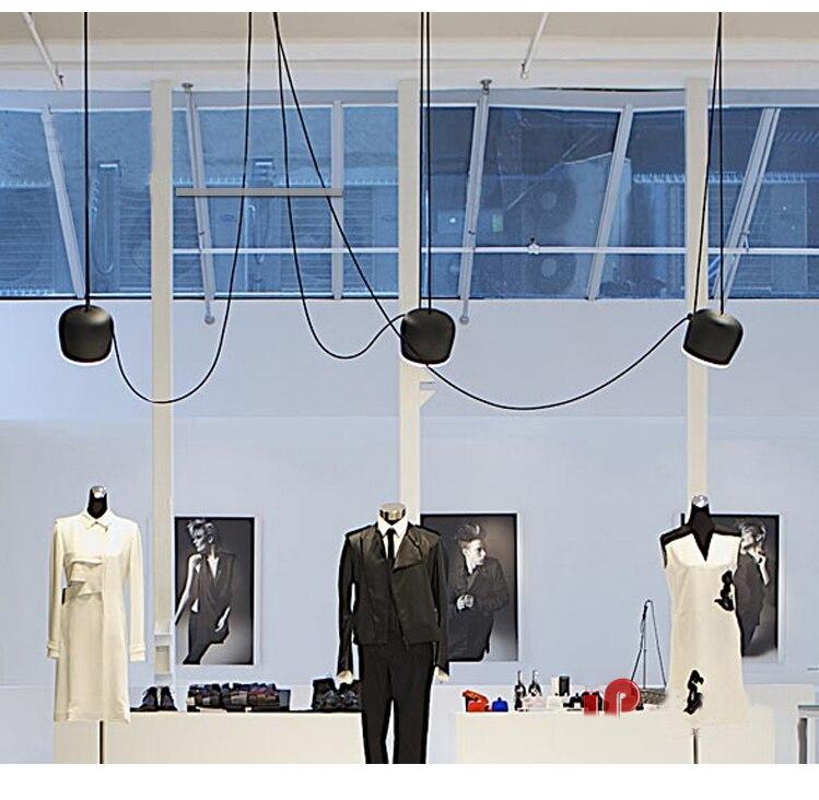 Schwarz/Weiß Schatten Moderne Kreative Pendelleuchte Mode Nordic ...