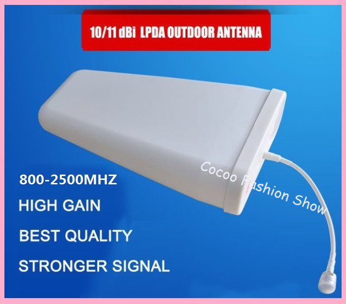 11dBi High Gain 800 2500mhz Outdoor LPDA Antenna for Cell