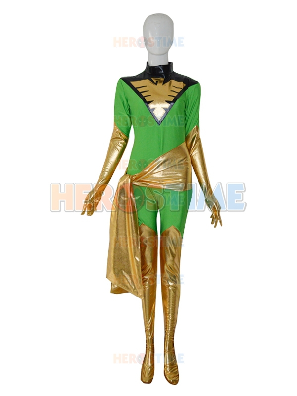 Phoenix Woman Costume X-men Jean Grey Costume Female Superhero Cosplay Suit