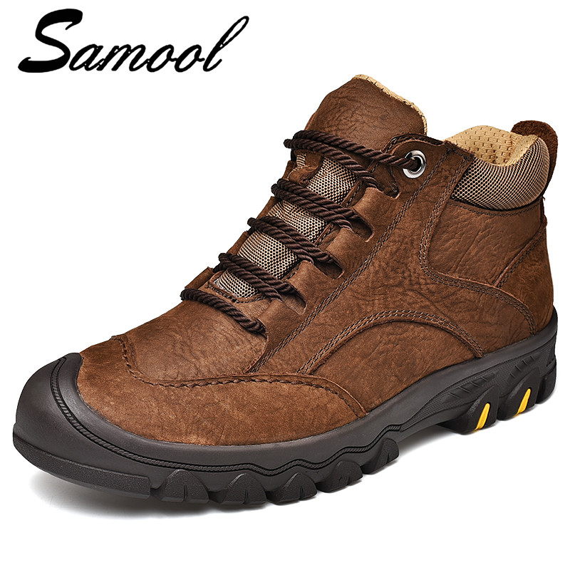 d644df0a89541 Brown Tenis Invierno black Impermeables Zapatos Hombre Piel De Para  Invierno Botas Sex3 Cálidas Zapatillas Nieve COqS0PP