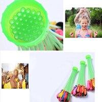 111 Pcs 3 Bunches Magic Water Balloons Outdoor DIY Kids Party Game Fun Toys