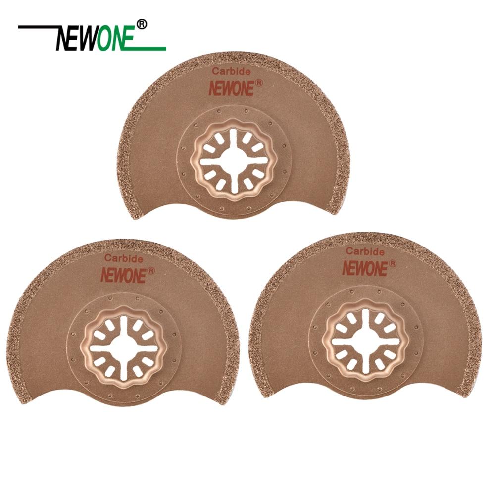 NEWONE Starlock Carbide Semented Saw Blades 88mm Fit Power Oscillating Tools For Polishing Ceramic Cut Work