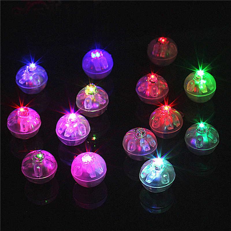 12 cái/lô led ballon đi vòng quanh bóng cốc đèn đèn flash sáng thanh giáng sinh trang trí đám cưới đèn đèn lồng dẫn bóng