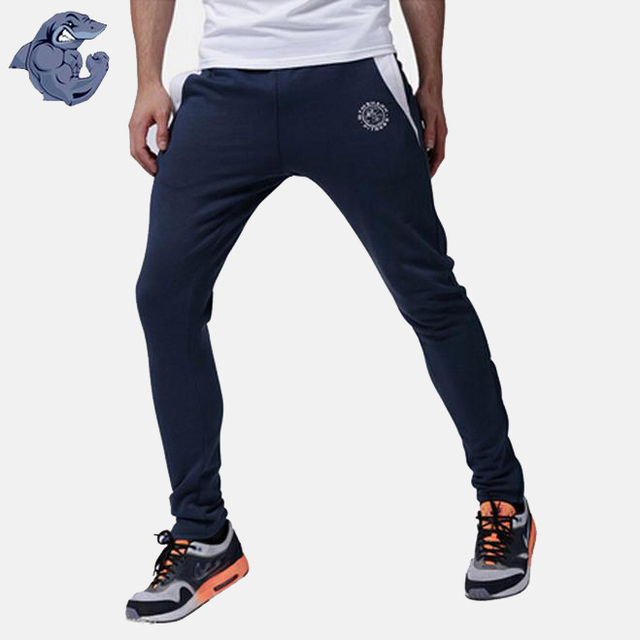 8ff7974244abd Gymshark Luxe Bottoms Golds Gym Shark Men Casual Sport Training Pants Mens  Joggers Cotton Trousers Bodybuilding