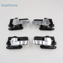 Soarhorse for Nissan Dualis Qashqai J10 2008 2009 2010 2011 2012 2013 Car Chrome Inside Door Handle inner door handle(China)
