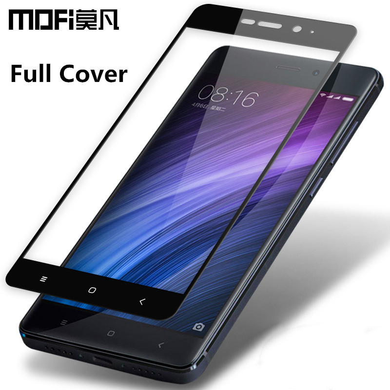 MOFi Redmi 4 pro glass tempered 2.5D full cover tempered glass Xiaomi Redmi 4 pro prime screen protector Redmi 4 prime glass 5.0