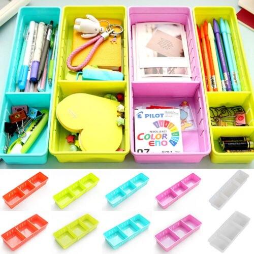 Hot Adjustable Drawer Organizer Home Kitchen Board Divider Makeup Storage Box