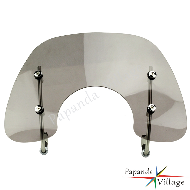 Papanda Motorbike Smoke Scooter Windscreen Deflector Windshield with Fitting Kit for Vespa Primavera 150 in Covers Ornamental Mouldings from Automobiles Motorcycles