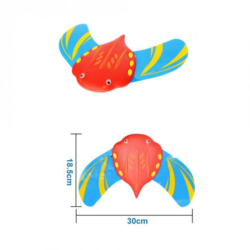 Swiming Pool Water Mini Fish Underwater Glider Self Propelled Adjustable Fins Pool Game For Children Kids beach toys enfant in Pool Rafts Inflatable Ride ons from Toys Hobbies